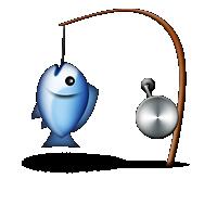 charbase u+1f3a3: fishing pole and fish, Fishing Rod