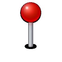 Charbase U 1f4cd Round Pushpin